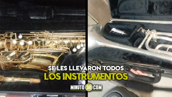 Ayudemos a recuperar los instrumentos musicales que les robaron a los niños en Medellín