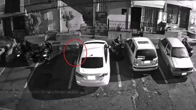 [Video] Denuncian el aumento de robo de retrovisores en Envigado
