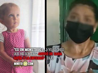 Exesposa de Nilson Díaz dice saber dónde está Sara Sofía
