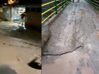 Emergencia en Simacota, Santander por desbordamiento de una quebrada