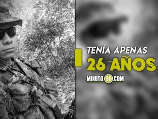 Identificaron al soldado que murió en campo minado en Dagua