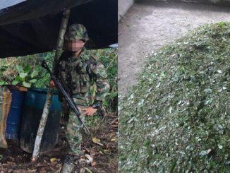 'Clan del Golfo' supuestamente ofreció $50 millones a soldados para que no les destruyeran un laboratorio de cocaína en Urabá