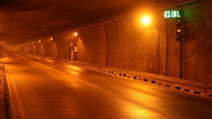 Habrá paso alternado en el Túnel de Occidente a partir del 6 de septiembre