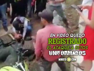 Mataron a dos policías en San Vicente del Caguán