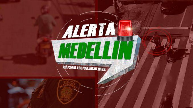 Alerta Medellín - motocicleta