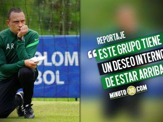 Alejandro Restrepo no tiene duda de que Nacional tiene una mistica especial