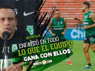 Alejandro Restrepo se despacho en elogios para Andrade Jarlan y Dorlan
