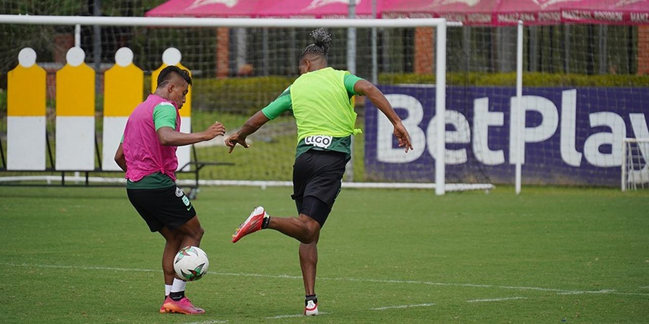 Atletico Nacional entrenamiento 1