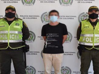 Cogieron a ciudadano colombiano solicitado por las autoridades de Brasil por trafico de drogas