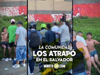 [Video] Cogieron a dos presuntos ladrones, les quitaron la ropa y los golpearon hasta el cansancio
