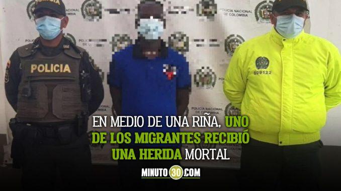 Cogieron a un haitiano que habría asesinado a otro en Necoclí, Antioquia