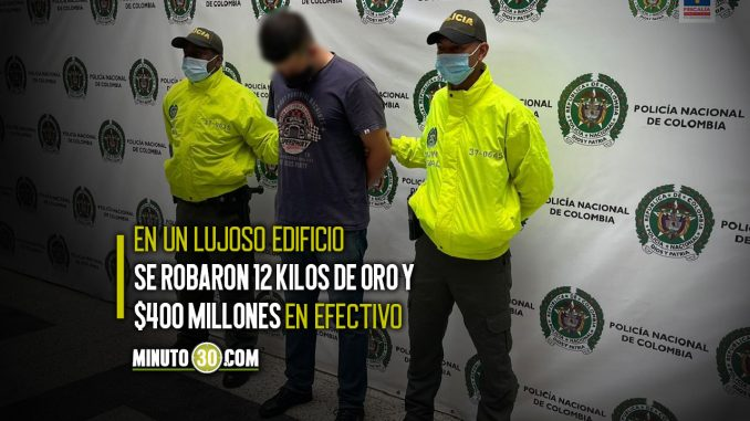 Cogieron a uno los presuntos ladrones que vestidos como Policías robaron oro en El Poblado