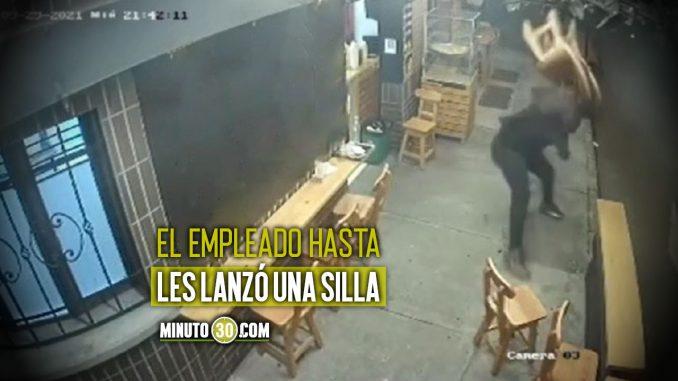 [Video] En Belén, unas 'ratas' le dispararon a un trabajador de una pizzería