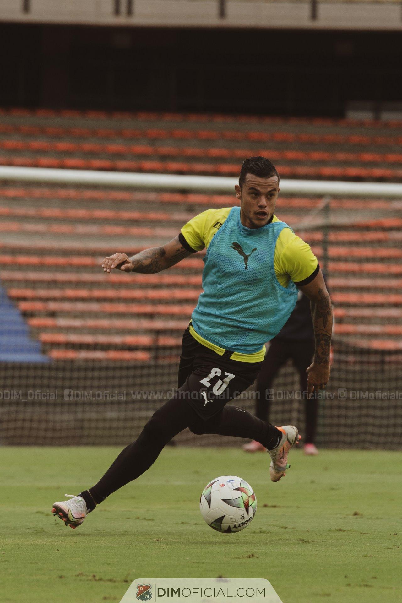 Entrenamiento Independiente Medellin en el Atanasio 2
