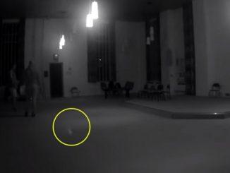 Grabaron supuesto avistamiento paranormal en prision embrujada