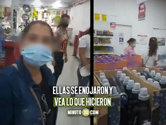 [Video] Habrían pillado a unas venezolanas intentando robar en el D1 de Carabobo