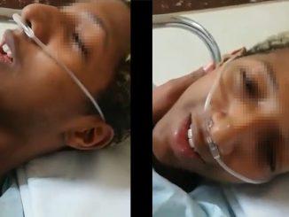 [Video] Vea los efectos de la anestesia en ese joven, el delirio y 'la parla' son para no parar de reír