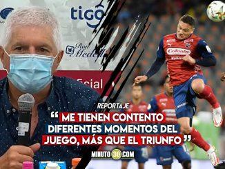 Julio Comesana celebra que Medellin esta mostrando cosas nuevas 1