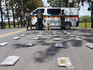[Video] Desde Medellín enviaron paquetes de 'Creepy' en una cava a Urabá y se los pillaron