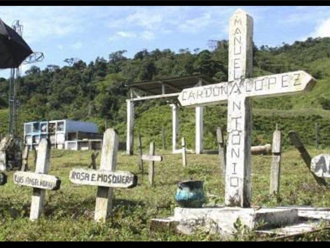 Ya son 23 años de la masacre en Machuca, Antioquia, allí 42 niños perdieron la vida