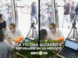 """""""¡Me salvé de milagro!"""" En Copacabana, un tipo después de robarlo intentó dispararle pero la bala no salió"""