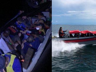 ¡Están desesperados! Migrantes en Necoclí están abordando lanchas ilegales en horarios peligrosos