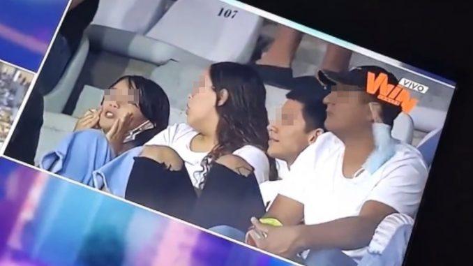 Curioso grito desde la tribuna: Niña se hace viral al saludar con un 'Hijue$%&' a jugadores del DIM