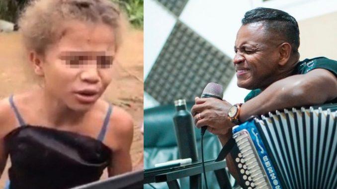 Omar Geles está buscando a la niña que tapa huecos y que cautivó con su hermosa voz