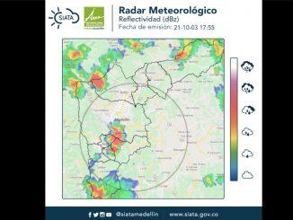 ¡Saque la sombrilla! Anuncian fuertes lluvias sobre Medellín