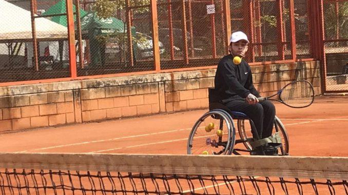 En Medellín se realiza el primer torneo de tenis en silla de ruedas de Antioquia