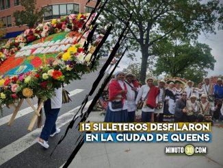 Silleteros de Santa Elena llenaron de color las calles de New York