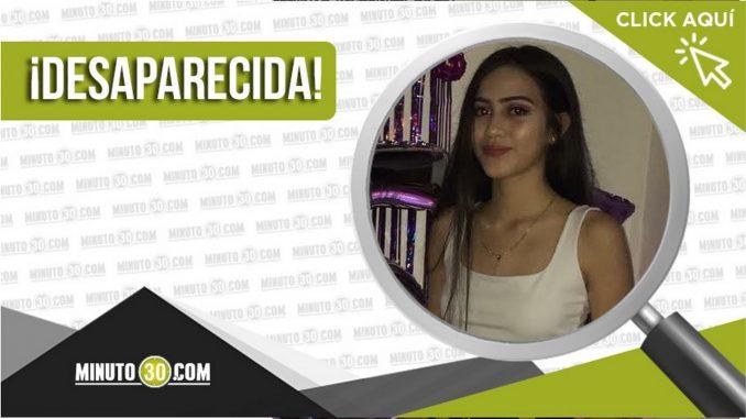 Stefanía Mora Vásquez tiene 15 años y está desaparecida desde el 1 de octubre