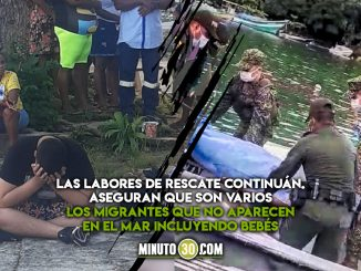 [Video] ¡Desgarrador! Varios migrantes murieron al hundirse la lancha en la que se movilizaban por el Golfo de Urabá
