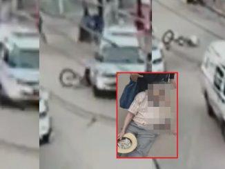 Ambulancia atropelló a un adulto mayor y huyó