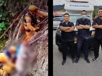 Ambulancia se accidentó y murieron sus tres ocupantes