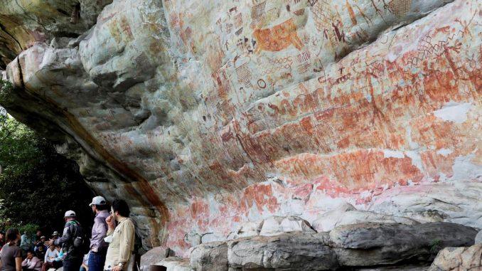 arte rupestre colombia