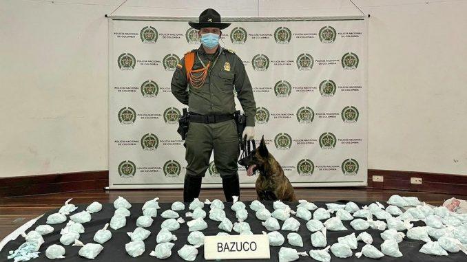 En el centro de Medellín incautaron más de mil dosis de bazuco