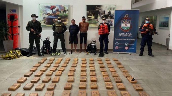 Capturados en Cartagena, pretendían contaminar un buque