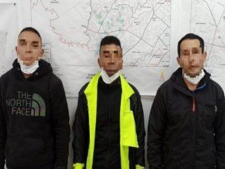 capturados bogota se veatian policias