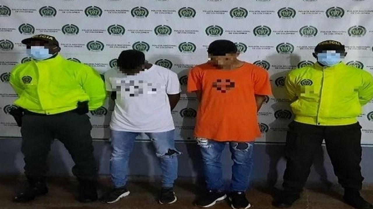 capturados homicidio clan del golfo