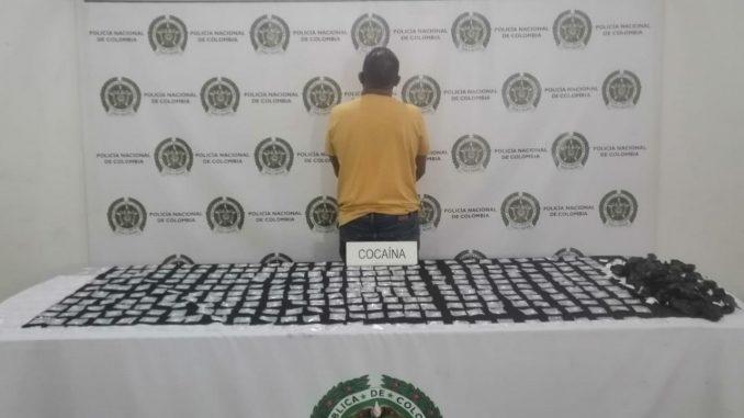 Lo cogieron en Medellín con 900 dosis de base de coca