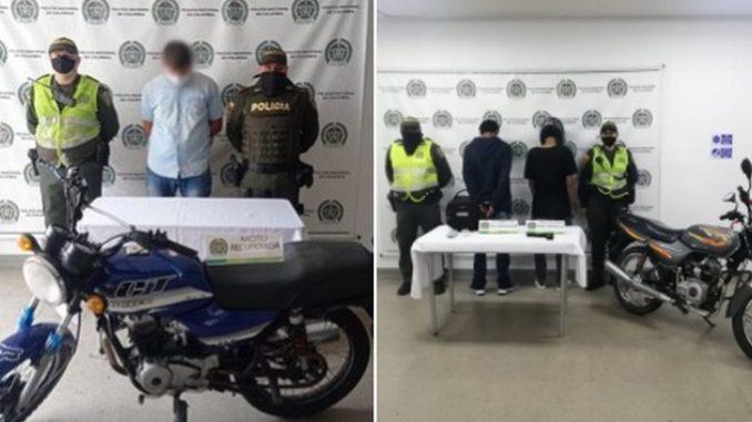 Capturados en las últimas horas en Itagüí