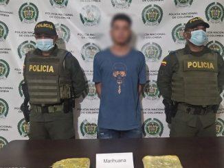 Capturado en Yalí por llevar más de mil gramos de marihuana