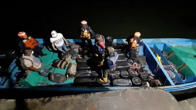 Incautaron 458 kg de clorhidrato de cocaína en Nariño