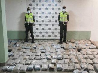 Incautaron 270 kilogramos de 'creepy' en Nuquí, Chocó