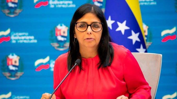 delcy rodriguez venezuela