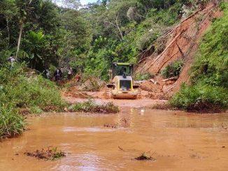 Derrumbes en San Carlos, Antioquia dejaron al menos 120 familias afectadas