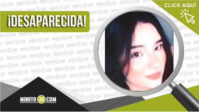 Isabela Gómez Hernández desaparecida