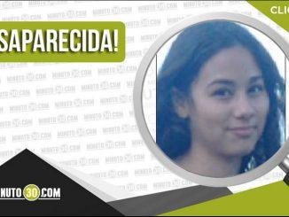 Valentina Contreras Marín desaparecida
