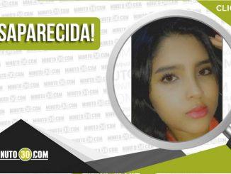Samy Lorena Manco Arias desaparecida